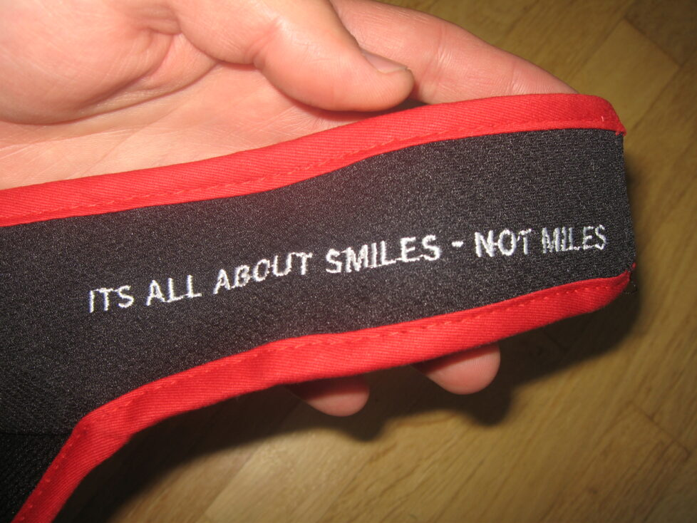 It's all about smiles – Not miles