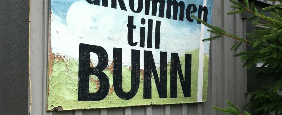 Alla stigar bär till Bunn?