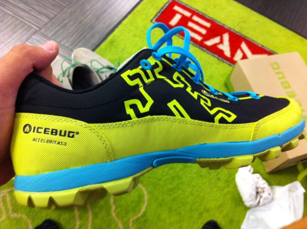 Acceleritas. Kan det bli fel med en sådan sko?