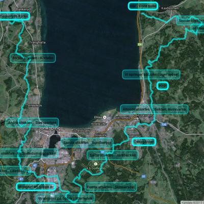 Detaljerad karta och ny information om VVUT