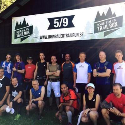 Testlöpning av John Bauer Trail Run 22 KM