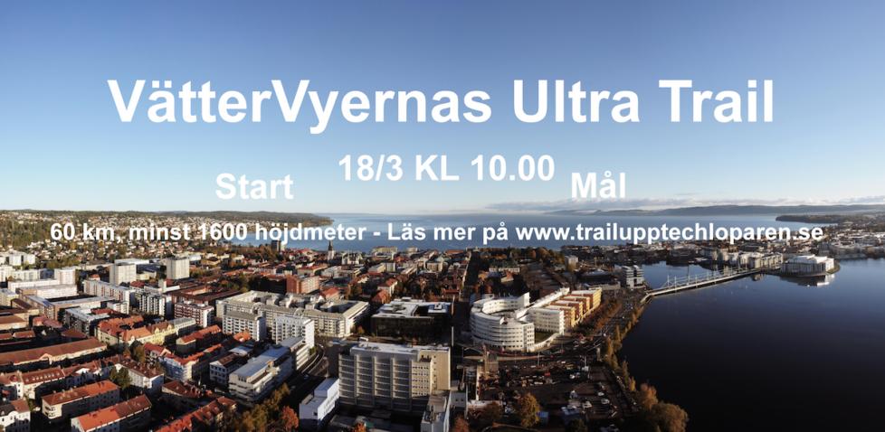 Anmälan till VätterVyernas Ultra Trail 18/3